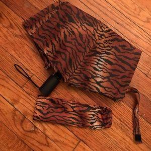 Tiger Print Umbrella